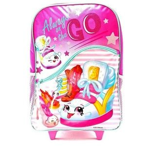 Backpack - Shopkins Large Rolling 16 Inch